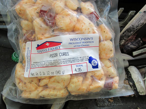 a sack of curds watt got in southern wisconsin on september 30, 2014