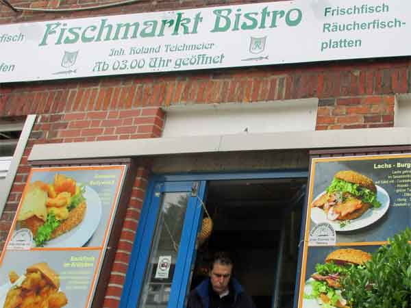 andrea belfi coming out of 'fischmarkt bistro' in hamburg, germany on october 27, 2016