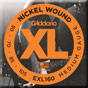 d'addario exl160 nickel round wound bass strings