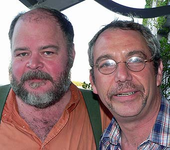 shot of david thomas and watt in 2005