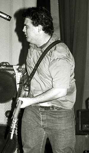 shot of d. boon in 1980