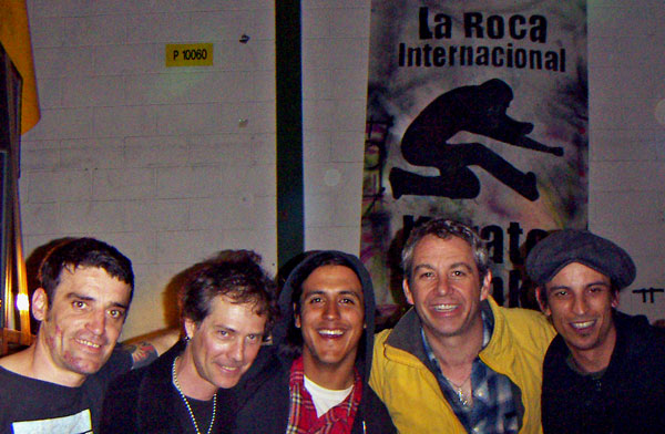 watt + secondmen w/la roca crew