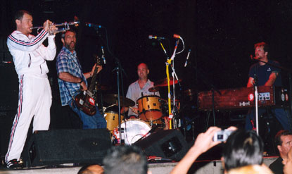 shot of flea w/watt + secondmen in 2003