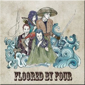 'floored by four' album cover