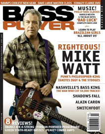 bass player magazine, april 2007