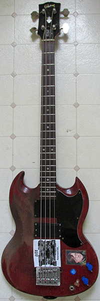 1965 gibson eb-0 'the dan bass'