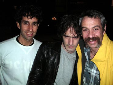 shot of glen e. friedman, guy picciotto and watt in 2004