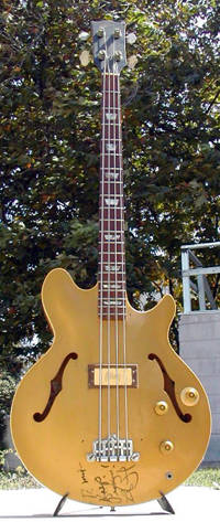 watt's les paul signature bass