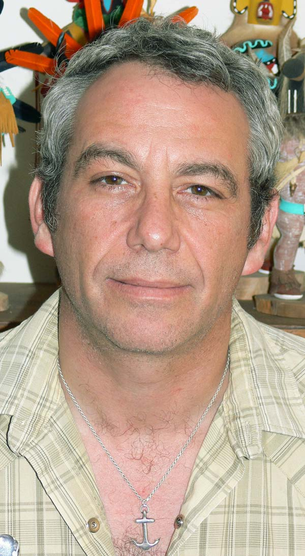 mike watt at his pad in san pedro, ca on march 25, 2007 by kira roessler