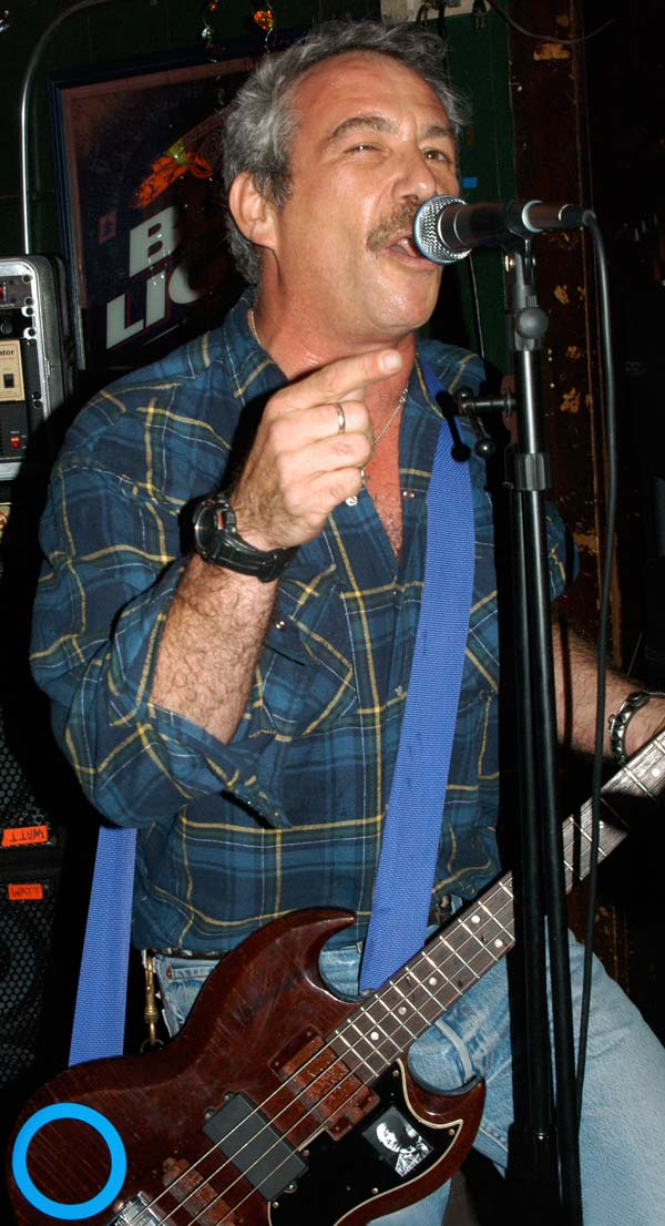 mike watt at harold's place in san pedro, ca on october 21, 2008 by eiko kobayashi