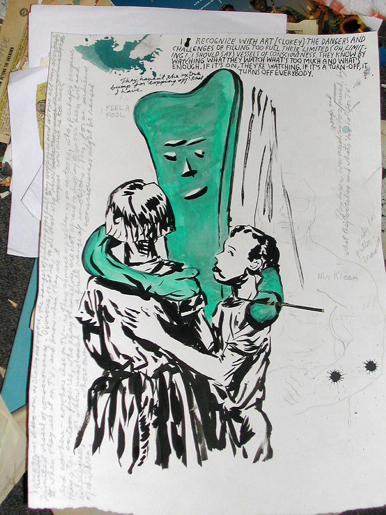 Raymond Pettibon Art