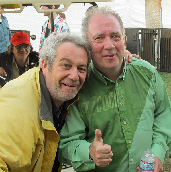 watt + pete shelley at coachella on april 14, 2012