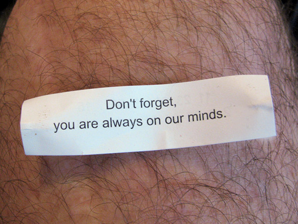 fortune cookie I got at nicholas taplin's pad in austin, tx on aug 23, 2010