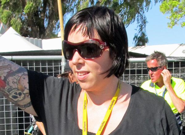 charney in perth on january 6, 2011