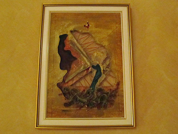 picture on my hotel room in targu mures, romania on august 27, 2011