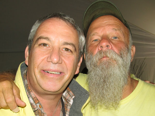 watt + seasick steve in lisbon, portugal on july 7, 2011