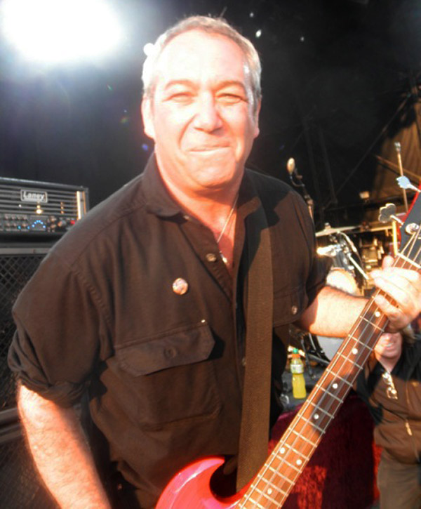 watt on stage at the hop farm festival on july 2, 2011 - photo by rob pargiter