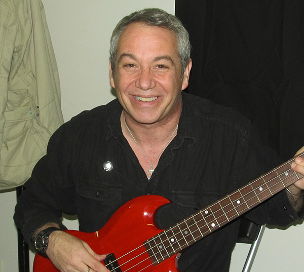 mike watt in aruckland, new zealand on january 21, 2011 just before first 'big day out' gig - photo by scott asheto