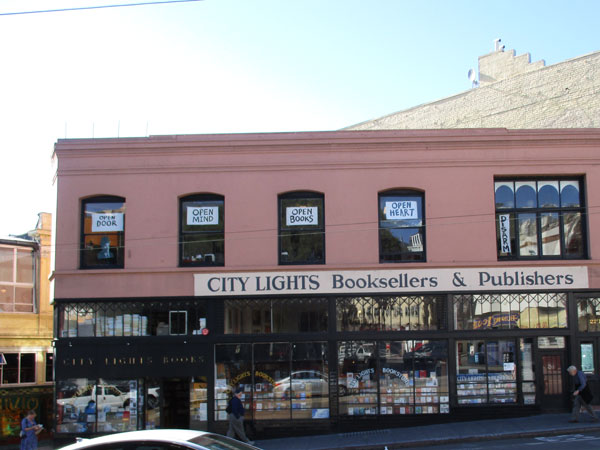 'city lights booksellers & publishers' in san francisco, ca on november 3, 2015