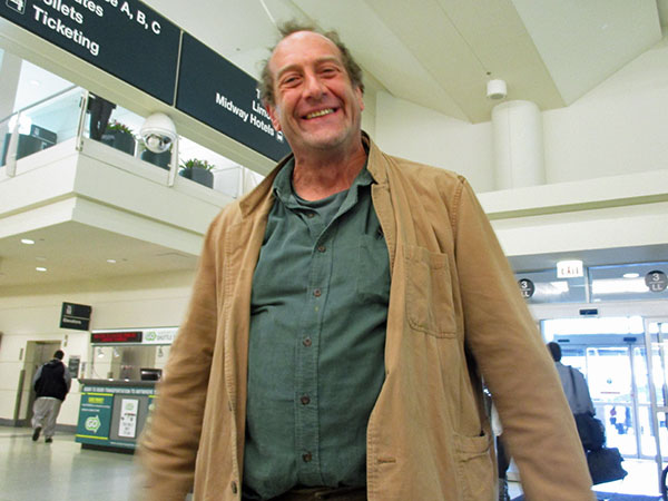 willie waldman at chicago midway airport on october 20, 2015