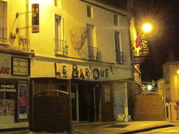 bar'ouf in cholet, france