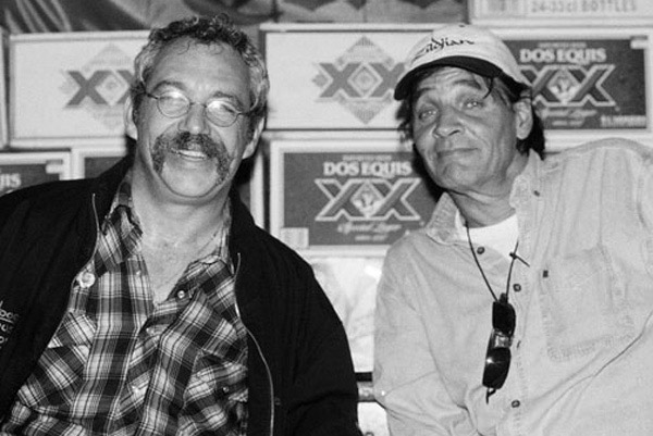 mike watt + scott asheton in sydney, australia on january 25, 2006