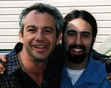 shot of watt + adam schoen in 2001