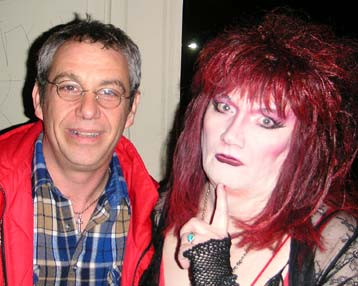 shot of watt and jayne county in 2005