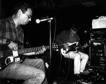 shot of watt and lee ranaldo in 2001