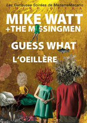 mike watt + the missingmen 'third opera europe tour 2014' poster
