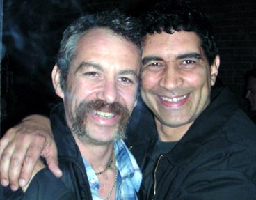shot of watt and pat smear in 2004