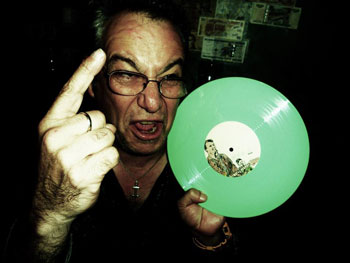 watt w/ten inch green vinyl 'missing the minutemen' ep' poster